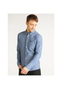 Niebieska koszula casual Lee button down