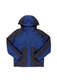 Kurtka ocieplona dla dzieci CMP Boy Jacket CMPKTZ0041. Kolor: niebieski. Materiał: tkanina, poliester, materiał, syntetyk. Sezon: zima
