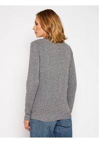 Szary sweter klasyczny Trussardi Jeans