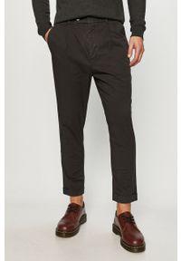 Szare spodnie AllSaints na co dzień, casualowe