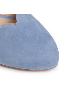 Niebieskie sandały Baldaccini na co dzień, z aplikacjami, casualowe