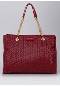 Czerwona torebka Monnari klasyczna