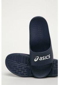 Niebieskie klapki Asics