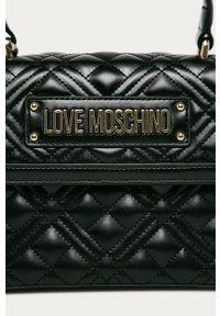 Czarna listonoszka Love Moschino na ramię, gładkie #5