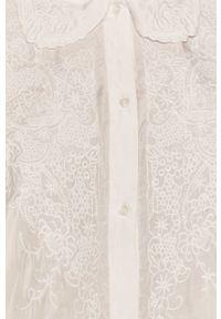 Biała koszula medicine z klasycznym kołnierzykiem, na co dzień