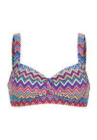 Góra bikini Cellbes z wyjmowanymi miseczkami, w kolorowe wzory