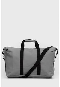 Rains - Torba 1320 Weekend Bag. Kolor: szary