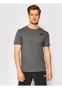 The North Face T-Shirt Red Box NF0A2TX2JBV1 Szary Regular Fit. Kolor: szary