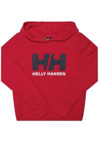 Czerwona bluza sportowa Helly Hansen