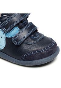 Froddo - Trzewiki FRODDO - G2130233 Dark Blue. Kolor: niebieski. Materiał: skóra, zamsz. Sezon: zima, jesień