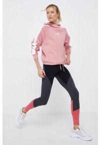 4f - 4F - Bluza. Kolor: różowy. Długość rękawa: raglanowy rękaw