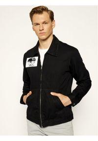 Czarna kurtka jeansowa Edwin