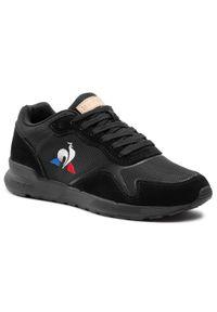 Czarne sneakersy Le Coq Sportif z cholewką, na co dzień