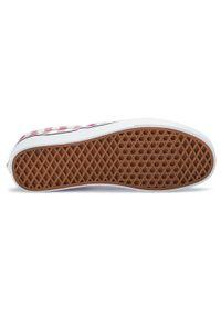 Czerwone buty sportowe Vans Vans Classic, z cholewką