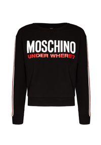 Moschino Underwear - Bluza MOSCHINO UNDERWEAR. Materiał: bawełna. Wzór: nadruk. Styl: sportowy