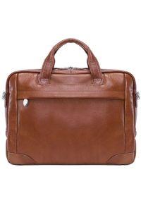 Torba na laptopa MCKLEIN Bridgeport 17 cali Brązowy. Kolor: brązowy. Styl: casual