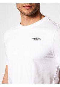 G-Star RAW - G-Star Raw T-Shirt Base D19070-C723-110 Biały Slim Fit. Kolor: biały