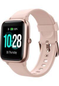 ULEFONE - Smartwatch UleFone Watch Różowy (UF-W/PK ). Rodzaj zegarka: smartwatch. Kolor: różowy