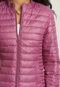 Fioletowa kurtka pikowana Renee