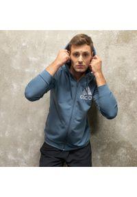 Bluza sportowa Adidas z kapturem, na jogę i pilates