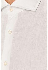 Biała koszula Baldessarini z klasycznym kołnierzykiem, casualowa, na co dzień, długa