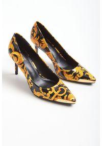 Szpilki Versace Jeans Couture na szpilce