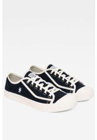 G-Star RAW - G-Star Raw - Tenisówki. Nosek buta: okrągły. Zapięcie: sznurówki. Kolor: niebieski
