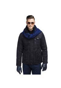 Kurtka Giacomo Conti na zimę, na co dzień, w kolorowe wzory, casualowa