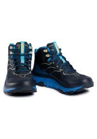Niebieskie buty trekkingowe Hoka One One trekkingowe, Gore-Tex
