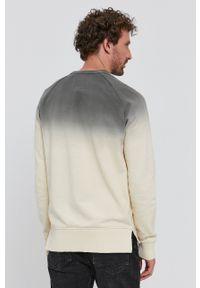 G-Star RAW - G-Star Raw - Bluza bawełniana. Okazja: na co dzień. Kolor: szary. Materiał: bawełna. Styl: casual