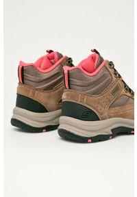 Buty trekkingowe skechers z cholewką, na sznurówki