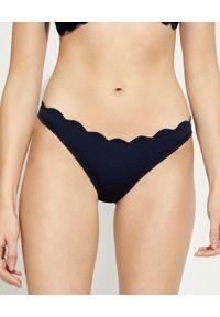 MARYSIA SWIM - Dół od bikini Swimclean Santa Barbara. Kolor: niebieski. Materiał: tkanina, materiał, nylon