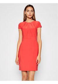 Lauren Ralph Lauren Sukienka koktajlowa 250837438001 Czerwony Regular Fit. Kolor: czerwony. Styl: wizytowy