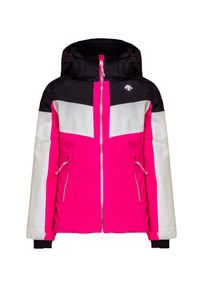 Różowa kurtka narciarska Descente elegancka