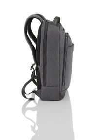 Szary plecak TITAN melanż, biznesowy