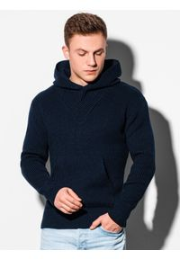 Niebieski sweter Ombre Clothing