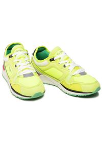 Pepe Jeans Sneakersy X20 Tech Neon PMS30747 Żółty. Kolor: żółty