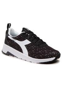 Czarne buty sportowe Diadora do biegania