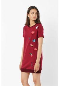 Sukienka Edward Orlovski z aplikacjami, casualowa, na co dzień