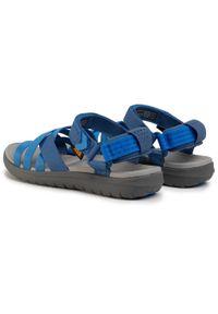 Niebieskie sandały Teva na co dzień, casualowe
