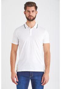 Koszulka polo Trussardi Jeans z nadrukiem, polo