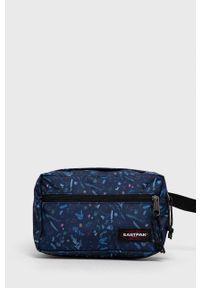 Eastpak - Kosmetyczka. Kolor: niebieski. Materiał: włókno, materiał