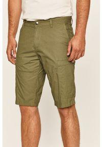 Zielone szorty Tom Tailor Denim na co dzień, casualowe