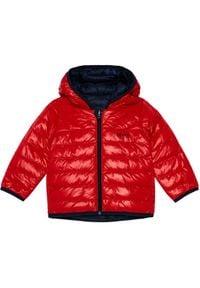 BOSS - Boss Kurtka puchowa J06218 M Czerwony Regular Fit. Kolor: czerwony. Materiał: puch