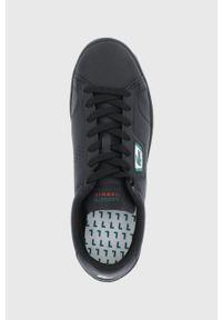 Lacoste - Buty skórzane Masters Classic. Zapięcie: sznurówki. Kolor: czarny. Materiał: skóra. Sport: bieganie