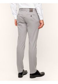 JOOP! - Joop! Spodnie materiałowe 30017330 Szary Slim Fit. Kolor: szary. Materiał: materiał