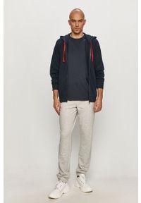 Emporio Armani Underwear - Emporio Armani - Spodnie. Okazja: na co dzień. Kolor: szary. Styl: casual