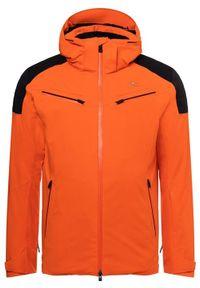 KJUS Kurtka narciarska męska Formula orange black