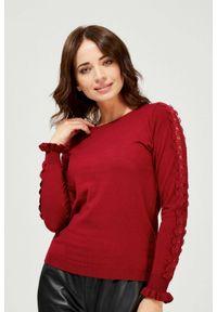 Sweter MOODO w koronkowe wzory