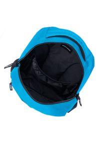 Wittchen - Plecak basic duży. Kolor: niebieski. Materiał: poliester. Styl: casual